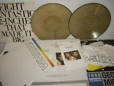 WHAM The Final Box Set Vintage 1986 T Shirt Gold Vinyl + Promo LP George Michael