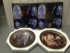 Lord of the Rings Collectors Plates - Complete Series 1 with COA's