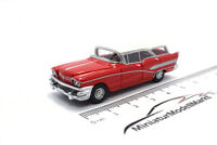 #87120 - BoS-Models Buick Century Caballero - rot/weiss - 1958 - 1:87