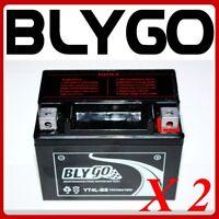 2 X YT4L-BS 12V4AH Battery 50cc 70cc 110cc PITPRO TRAIL DIRT QUAD BIKE ATV BUGGY