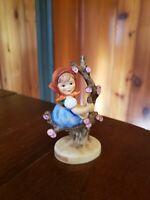 "Vintage Goebel Germany Hummel figurine ""Apple Tree Girl"" #141 4 inches tall"