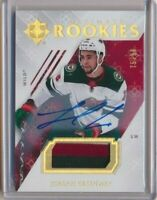 2018-19 Ultimate Collection Rookies Patch AUTO 73 Jordan Greenway /99 Wild