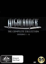 Highlander the Complete Collection: Seasons 1 - 6 - Duncan MacLeod NEW R4 DVD