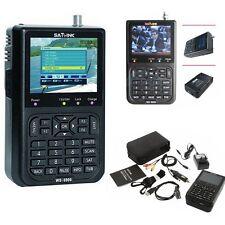 SATlink WS-6906 3.5'' DVB-S FTA Data Digital Satellite Signal Finder Meter Black