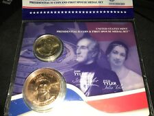 3 sets 2009 Tyler Presidential Dollar and  First Spouse Julia Medal Set