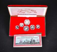 1986 Sterling Silver Proof Coin Set. BCCS Singapore No.09321 Low Mintage Proof.