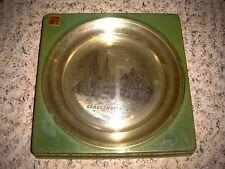 Vintage Massiv Zint Zinn 95% Pewter/Tin #30 259 Germany Gerolzhofen/UFR plate