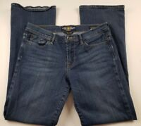Lucky Brand Womens Jeans Sz 10 30 Sweet n' Low Boot Cut Medium Wash Denim **