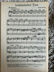 Noten Salonorchester ANDALUSISCHER TANZ v. Gerhard Winkler, Verl. Schmidt