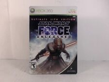 STAR WARS: THE FORCE UNLEASHED ULTIMATE SITH EDITION --- XBOX 360 Complete CIB w