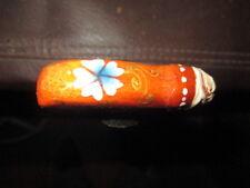 Mw.A481: Unique Small Hand Painted Penis Folk Art Handle Ash Walking Stick Cane