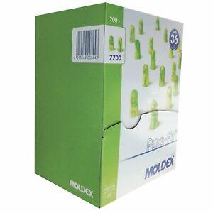 MOLDEX 7700 Pura-Fit Earplugs SNR: 36dB  Box of 200 Pairs