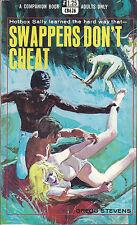 Vintage Sleaze PB Paperback - Swappers Don't Cheat - Companion Books - Pulp 1969