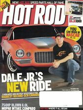 Hot Rod Magazine Dec 2007 Speed Parts Hall of Fame, Dale Jr's New Ride NASCAR