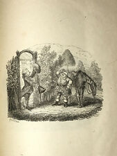 "George Cruikshank  Diverting History of John Gilpin  W/ ""6 Illustrations""  1828"