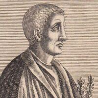 Portrait XVIIe Horace Poète Poèsie Horace Quinto Orazio Flacco Horaz Horacio