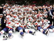 Washington Capitals 2018 Stanley Cup CELEBRATION ON ICE 16x20 POSTER Print b25292184