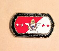 US ARMY Chief of Staff General Casey Challenge Coin
