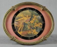 BRONZE AND PORCELAIN CLOCK
