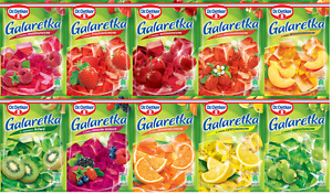 Dr Oetker Galaretka JELLY JELLO 100% Polish! BIG CHOICE ! ORIGINAL From Poland