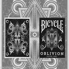 Oblivion White Deck Bicycle Playing Cards Poker Size USPCC Custom Limited Sealed