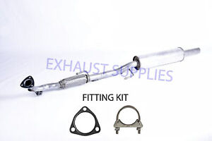 VW POLO (9N_) (6R1, 6C1) 1.2 FRONT EXHAUST PIPE FLEXI (VW810V) + FITTING KIT