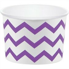 Amethyst Chevron Stripe Paper Treat Cups 6 Pack Party Supplies Party Decoration
