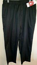 Big Mens New Nwt Chef Works Black Uniform Pants 3Xl pull on pockets Nice