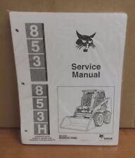 Bobcat 853 853h Loader Service Manual 6724012 And Parts Manual