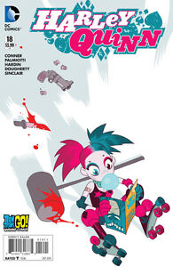 HARLEY QUINN (2013 Series) #18 Variant (TEEN TITANS GO)!!