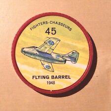 Jello Pane Wheels Fighters # 45 Flying Barrel 1948