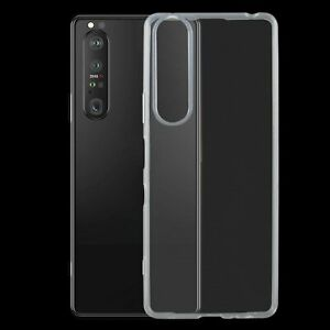 For Sony Xperia 1 III AMZER Ultra Slim Clear TPU Soft Protective Case Cover