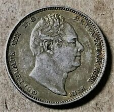 GREAT BRITAIN - William IIII - Silver Sixpence - 1834 - KM-712 - Extra Fine!