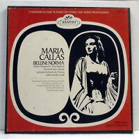 Maria Callas Serafin NORMA Bellini 3 LP Box Set Seraphim 1C 6037 Near Mint