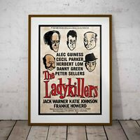 The Ladykillers - An Ealing Comedy Poster Framed or 3 Print Options NEW 2020