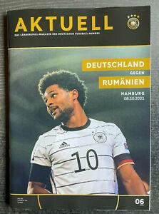 08.10.2021 Deutschland - Rumänien, WM-Qualifikation in Hamburg - Serge Gnabry