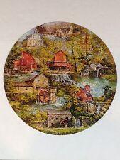 Vintage 1972 Springbok GRIST MILLS Circular Jigsaw Puzzle 400PZL6043 - Pascolini