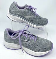 Brooks Womens Anthem 2 Grey/Purple/Navy Running Shoes Size 8.5 (1534028)
