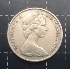 1966 AUSTRALIAN 20 CENT COIN