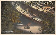 """(108) Postcard of """"Entrance to Penns Cave"""",  Near Bellefonte, Pa."""