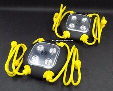 SET of 2 ~ Widget 4 LED Flexible Hands Free Universal Utility Light ~ GREAT GIFT