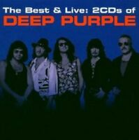 "DEEP PURPLE ""THE BEST & LIVE"" 2 CD NEW!"