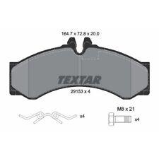TEXTAR Original Bremsbelagsatz, Scheibenbremse Vorderachse VW, 2915301