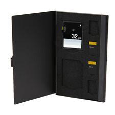 6 in 1 Aluminium Micro for TF SD SDHC TF MS Memory Card Storage Case Box