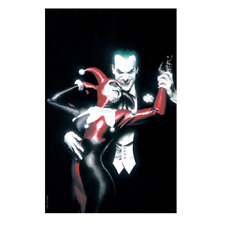 FAN EXPO EXCLUSIVE Batman Harley Quinn #1 FOIL VARIANT by ALEX ROSS