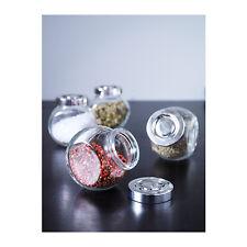 Gewürzglas  Vorratsgläser Glas Behälter 4er Set je 180 ml Gewürzglas 4 x 180 ml