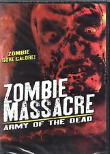 Zombie Massacre: Army of the Dead-DVD - Region 1 -Brand New-Still Sealed