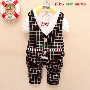 Boys Baby boy party suit 1-4 years christening birthday wedding outfit Uk seller