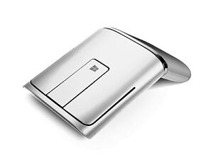 Lenovo N700 Wireless/Bluetooth Mouse with Laser Pointer Silver Best For Computer