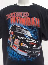 Dale Earnhardt # 3 Designed To Intimidate Built To Conquer 2 sided t shirt sz L